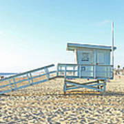 Lifeguard Station #13 Poster