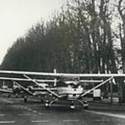 Light Aircraft In March Past Poster