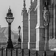 Light Feature At Hu Parliament Poster