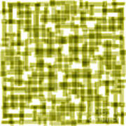 Light Green Abstract Poster