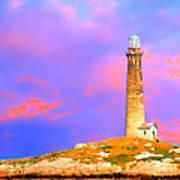 Light House Onthatcher Island Poster