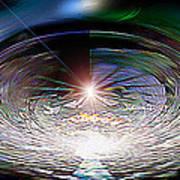 Light Roulette  V3 Poster by Rebecca Phillips