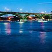Light Up The Peace Bridge Poster