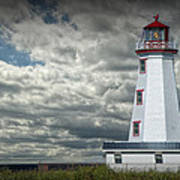 Lighthouse At North Cape On Prince Edward Island Poster