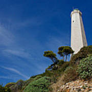Lighthouse At Saint-jean-cap-ferrat France French Riviera Poster