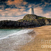 Lighthouse Beach Poster
