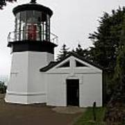 Lighthouse Cape Meares Poster