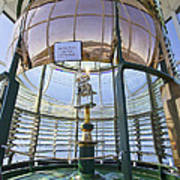 Lighthouse First Order Fresnel Lens Poster