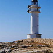 Lighthouse On Cap De Barbaria On Formentera Poster