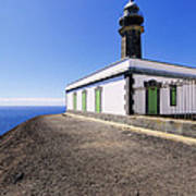Lighthouse On Hierro Poster