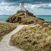 Lighthouse Path Poster