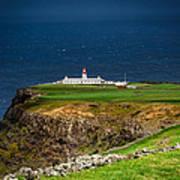 Lighthouse Ponta Do Albernaz Poster