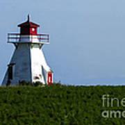 Lighthouse Prince Edward Island Poster by Edward Fielding