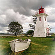 Lighthouse Victoria By The Sea Pei Poster