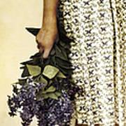 Lilac Bouquet Poster
