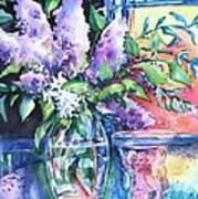 Lilac Light Poster