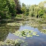 Lily Pond - Monets Garden Poster