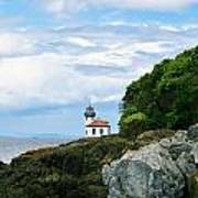 Lime Kiln Point Lighthouse Poster