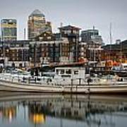 Limehouse Basin. Poster