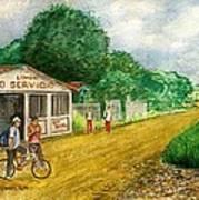 Limon Costa Rica Poster