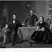 Lincoln And Family Poster