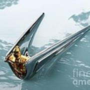 Lincoln Capri Hood Ornament Poster