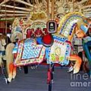 Lincoln Centennial Horse Poster