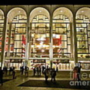 Lincoln Center At Night Poster