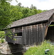 Lincoln Gap Covered Bridge Poster