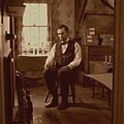 Lincoln In The Attic Poster