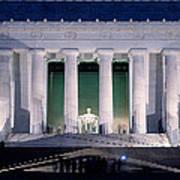 Lincoln Memorial At Dusk, Washington Poster