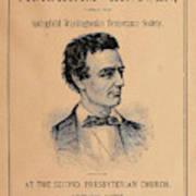 Lincoln Temperance, 1842 Poster
