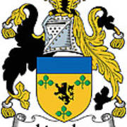 Lincolne Coat Of Arms Irish Poster