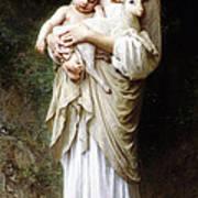 L'innocence By Bouguereau Poster by Bouguereau
