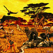 Lion Kill Morning After'98 Poster