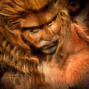 Lion Man Poster