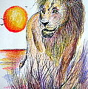 Lion Of Lions Poster