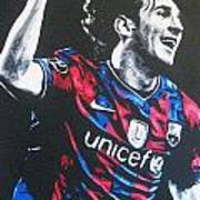 Lionel Messi - Barceona Fc 2  Poster