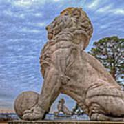 Lions Bridge East Lake Side Poster