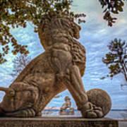 Lions Bridge West Lakeside Poster