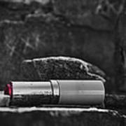 Lipstick - Bw  Poster