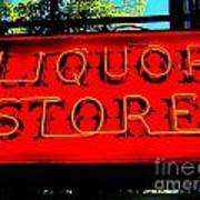 Liqour Store Poster
