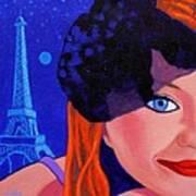 Lisa Darling - Paris - Irish Burlesque Poster