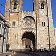Lisbon Cathedral In Portugal Poster