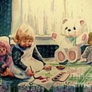 Little Artist Poster