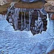 Little Frozen Waterfall Poster