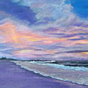 Little Gasparilla Island Sunset Poster