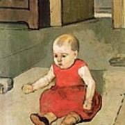 Little Hector On The Floor, 1889 Poster