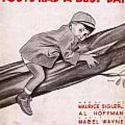 Little Man Youve Had A Busy Day Poster