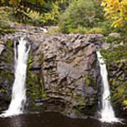 Little Manitou Falls Autumn 2 Poster